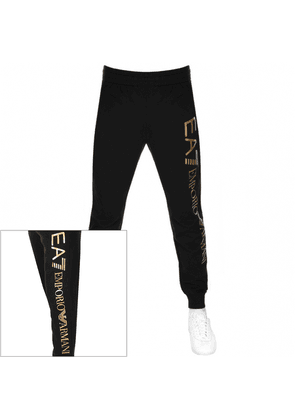 EA7 Emporio Armani Logo Jogging Bottoms Black