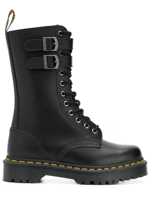 Dr. Martens mid-calf lace-up boots - Black