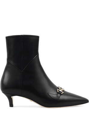Gucci Zumi boots in leather - Black