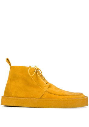 Marsèll lace up loafers - Yellow
