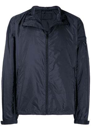 Prada zipped lightweight jacket - Blue