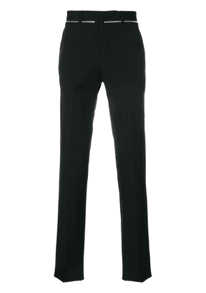 Givenchy zip-detail tailored trousers - Black