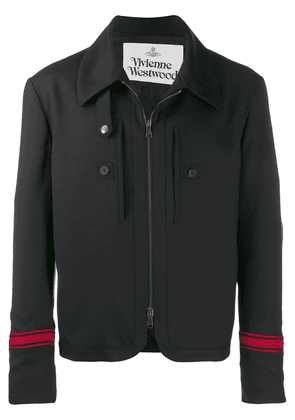Vivienne Westwood zipped shirt jacket - Black