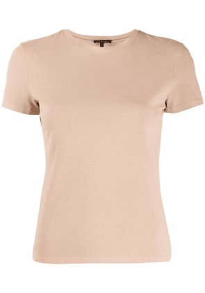 Theory soft touch T-shirt - Brown