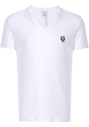 Dolce & Gabbana Underwear deep V-neck T-shirt - White
