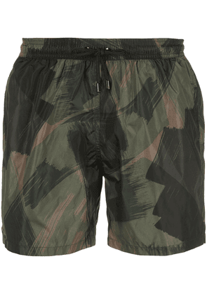 Closed Espresso swim shorts - Green