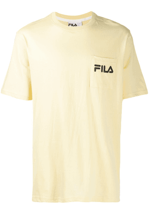 Fila contrast logo T-shirt - Yellow