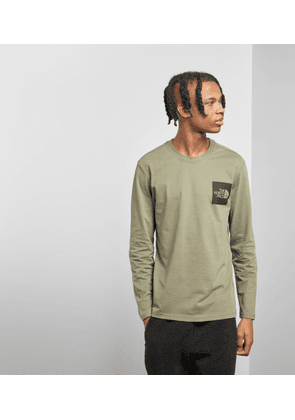 The North Face Fine Long Sleeved T-Shirt, Green