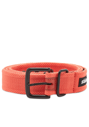 Stussy Woven Army Belt Red