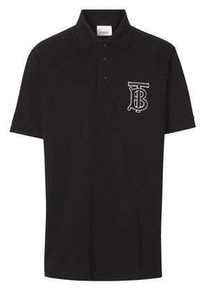 Polo With Logo Patch