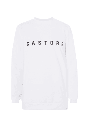 CASTORE - + Andy Murray Stretch Tech-jersey Tennis Sweatshirt - White