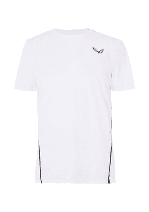 CASTORE - + Andy Murray Porter Stretch Tech-jersey Tennis  T-shirt - White