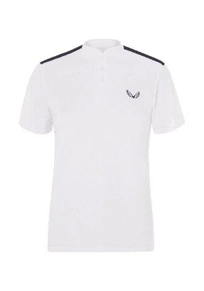 CASTORE - + Andy Murray Arnaud Stretch Tech-jersey Tennis T-shirt - White
