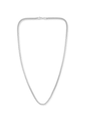 Tom Wood - Curb Oxidised Sterling Silver Necklace - Silver