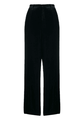Forte Forte high-waist tailored trousers - Blue