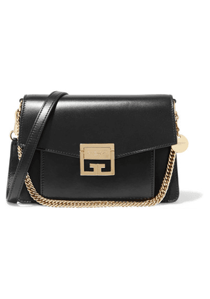 Givenchy - Gv3 Small Leather Shoulder Bag - Black