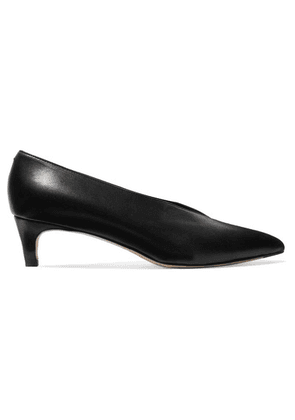 aeyde - Camilla Leather Pumps - Black