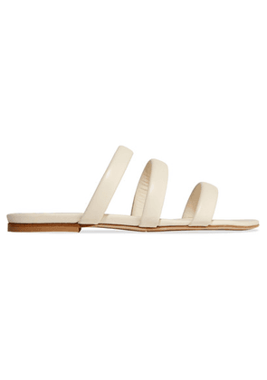aeyde - Chrissy Leather Slides - Cream