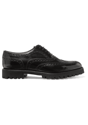 Church's - Carla Glossed-leather Brogues - Black