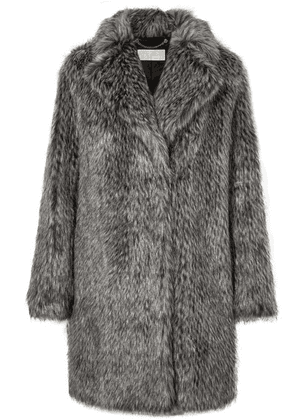 MICHAEL Michael Kors - Faux Fur Coat - Gray