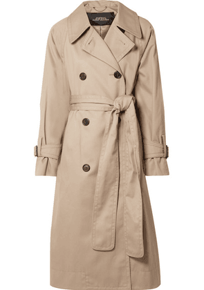 Marc Jacobs - Oversized Cotton-twill Trench Coat - Beige