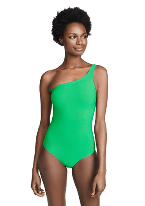 Isabel Marant Sage One Shoulder One Piece Swimsuit