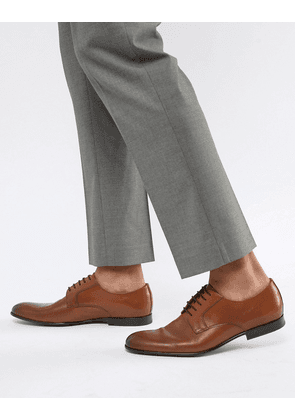 PS Paul Smith Gould leather derby shoe in tan