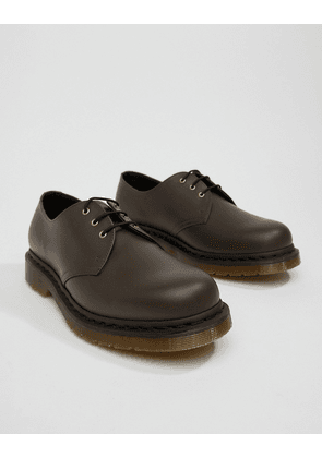 Dr Martens 1461 Shoes In Chocolate