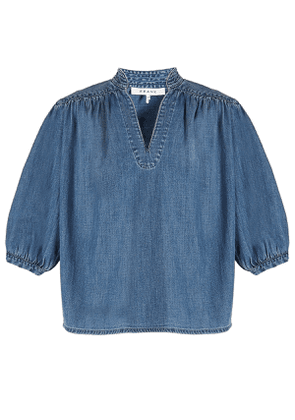 FRAME DENIM Cali Denim Blouse