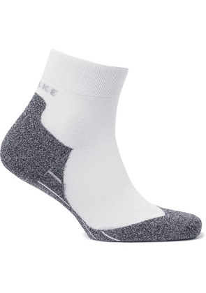 FALKE Ergonomic Sport System - Ru4 Stretch-knit Socks - White