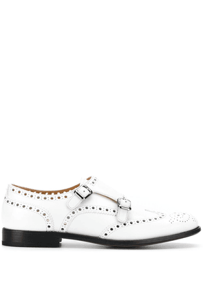 Church's perforated loafets - White