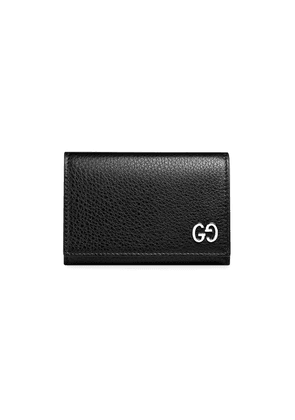 Gucci pebbled wallet - Black