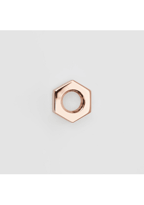 Burberry Rose Gold-plated Nut Earrings, Pink
