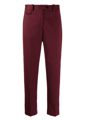 Calvin Klein cropped trousers - Red