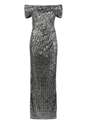 Dolce & Gabbana cocktail sequinned dress - Grey