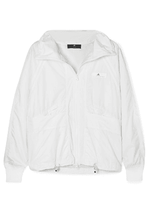 adidas by Stella McCartney - Canvas-trimmed Shell Jacket - White
