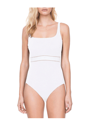 Finesse Square-Neck One-Piece Swimsuit
