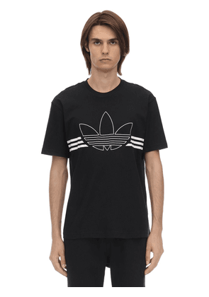 Outline Trf Cotton Jersey T-shirt
