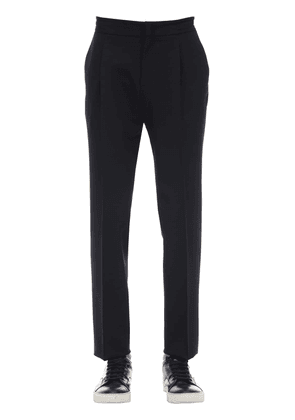 Diagonal Active Wool Trousers