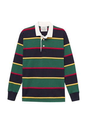 Green-Striped Cotton Argyll & Sutherland Highlanders Rugby Jersey