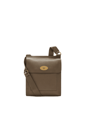 Mulberry New Antony Messenger in Clay Small Classic Grain