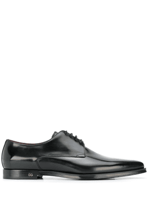 Dolce & Gabbana pointed toe lace-up shoes - Black