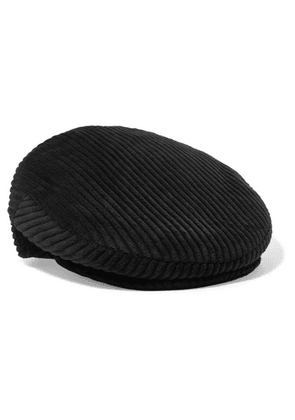 Isabel Marant - Gabor Cotton-corduroy Cap - Black