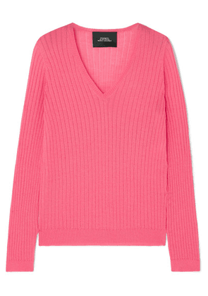 Marc Jacobs - Ribbed Wool-blend Sweater - Pink