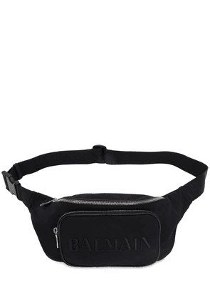 35 Logo Embroidered Nylon Belt Bag