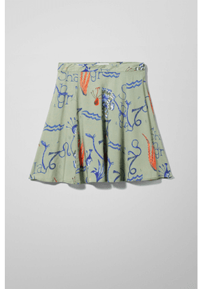 Perry Skirt - Green