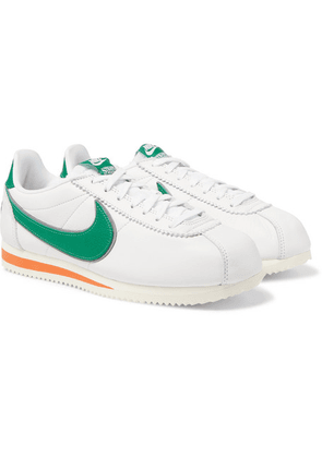 Nike - + Stranger Things Hawkins High Cortez Leather Sneakers - White
