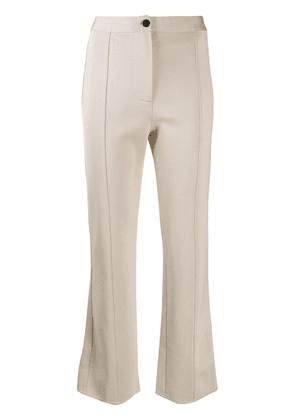 Givenchy kick flare trousers - Neutrals