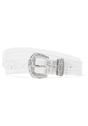 Tibi - Pvc Waist Belt - Clear