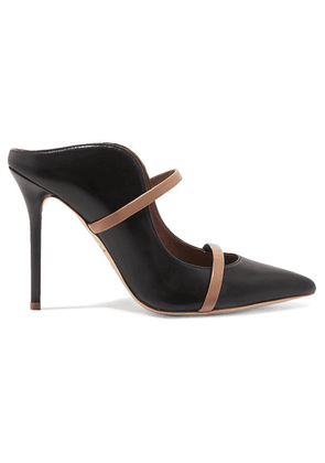 Malone Souliers - Maureen 100 Leather Mules - Black